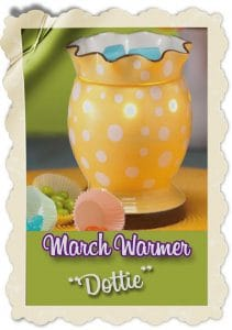Scentsy March Candle