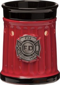 Scentsy Firefighter Warmer Scentsy Hero Collection