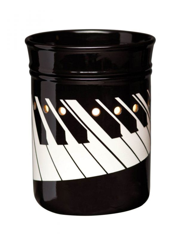 piano candle warmer