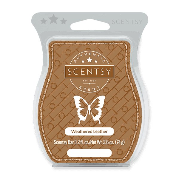 Scentsy Leather Scent Wax