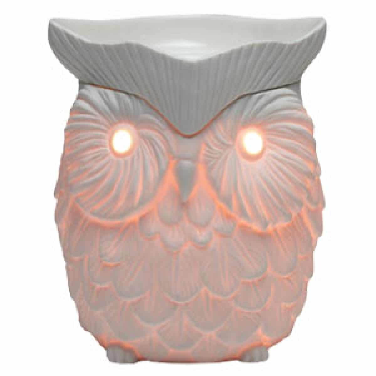 whoot owl candle warmer