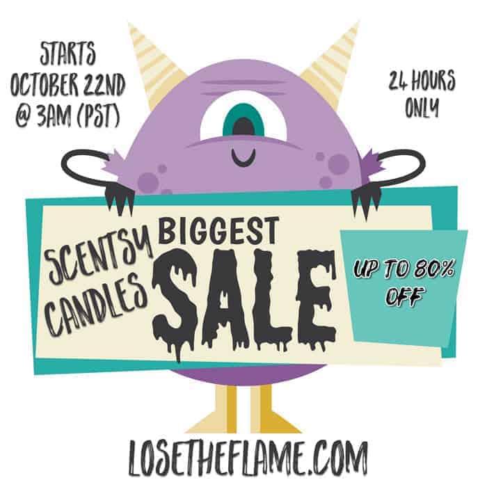 losetheflame scentsy sale
