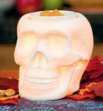 Scentsy Skull Warmer Bonehead Candle Warmer