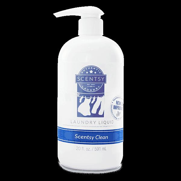 scentsy clean laundry liquid