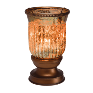Amber Fluted Warmer