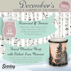 scentsy december warmer