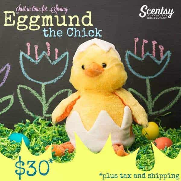 scentsy egg chick buddy