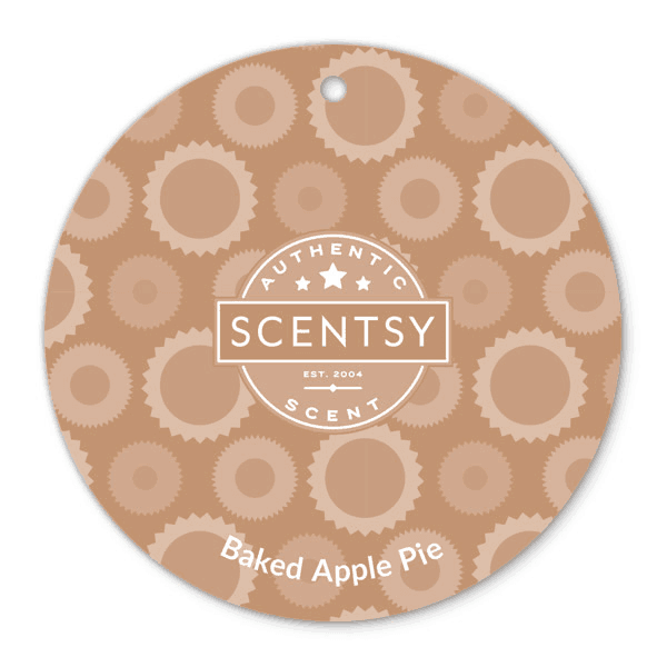 scentsy baked apple