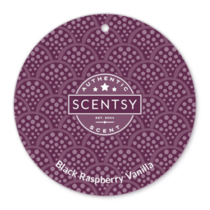 Black Raspberry Vanilla Scent Circle