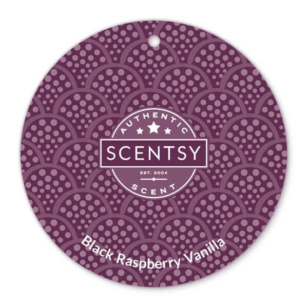 Black Raspberry Vanilla Scent Circle