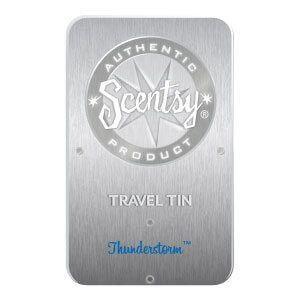 Thunderstorm Travel Tin