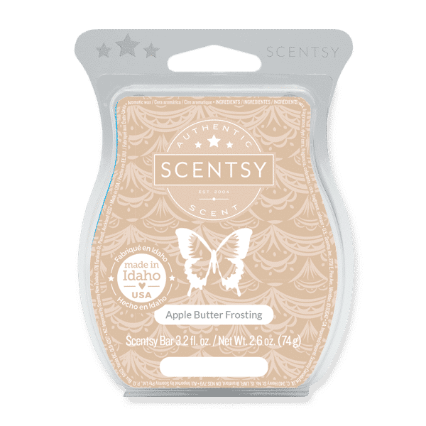 scentsy apple butter frosting wax bar