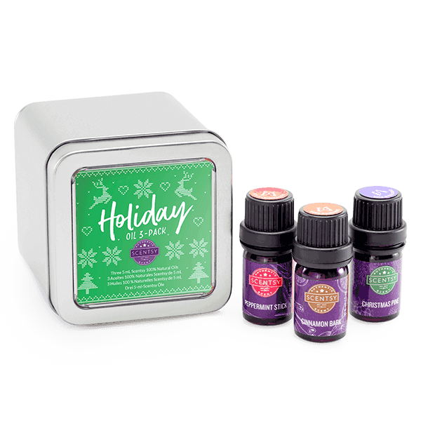 scentsy holiday diffuser oils
