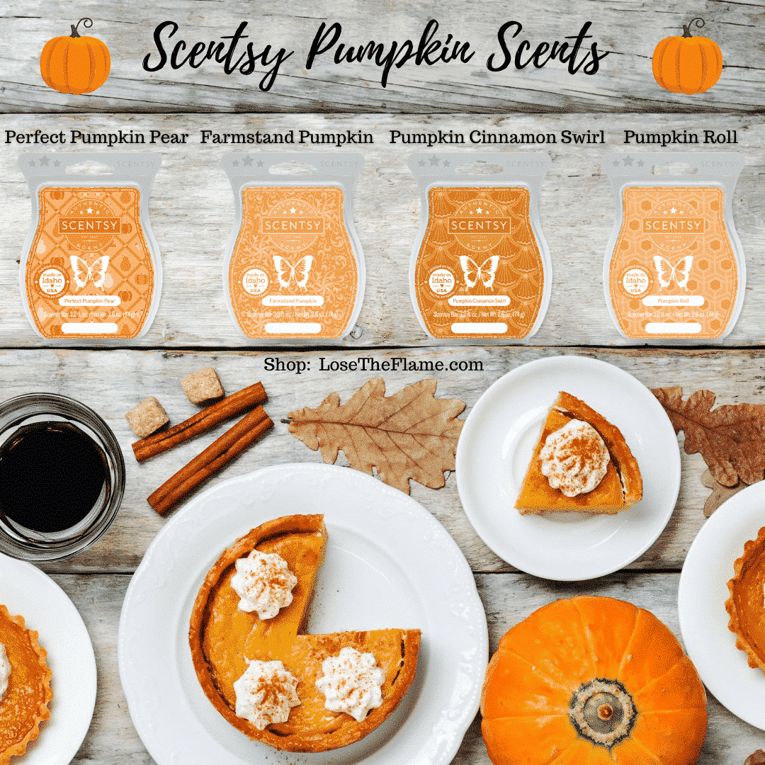Scentsy Pumpkin Scents Shop Pumpkin Candle Scents