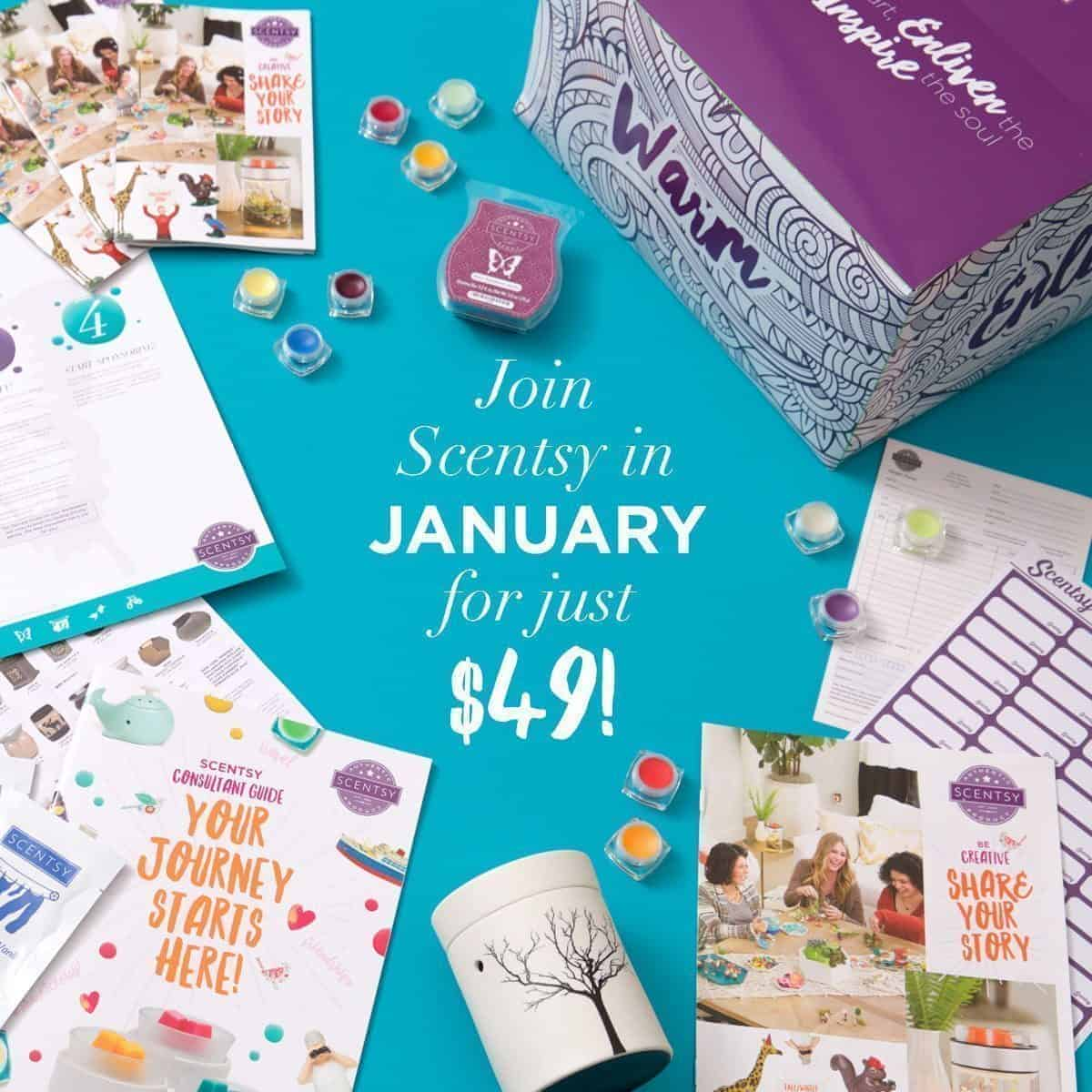 Join Scentsy In January Special