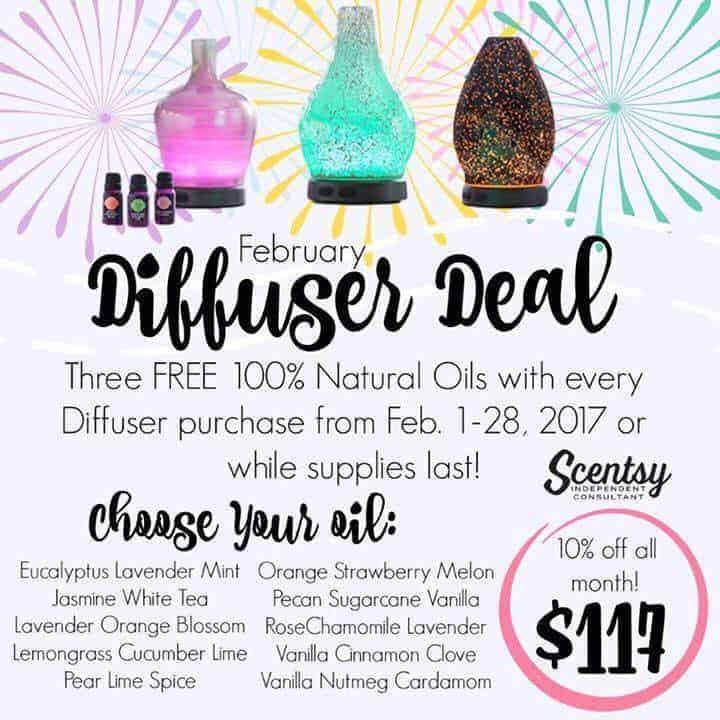 diffuser free oils