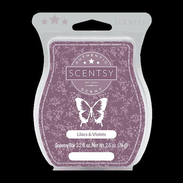 lilacs violets