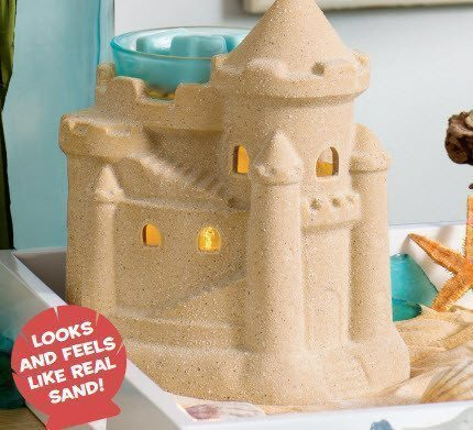 summer sandcastle warmer
