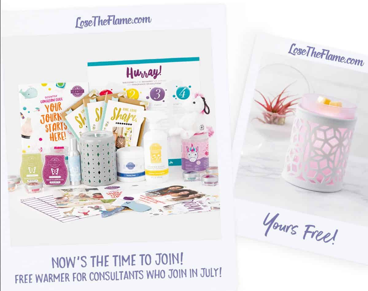 sell scentsy free