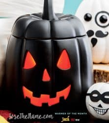 halloween pumpkin warmer