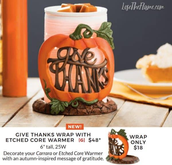 scentsy thanksgiving