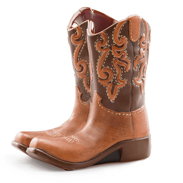Scentsy Rodeo Warmer Cowboy Boots Candle Warmer