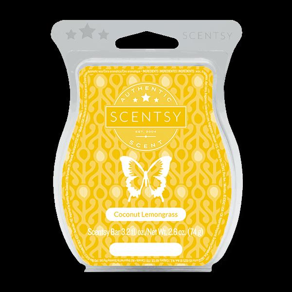 scentsy coconut lemongrass