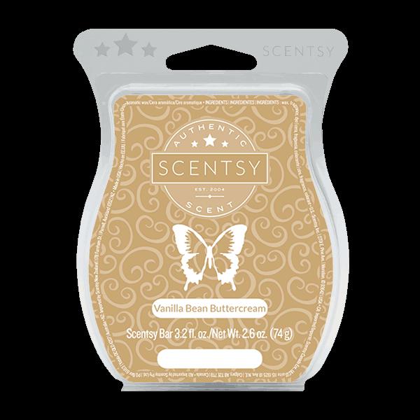 Vanilla bean scentsy bar