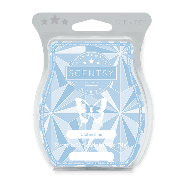 scentsy clothesline scent