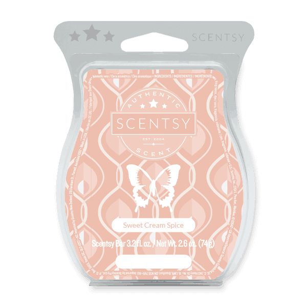 scentsy sweet cream
