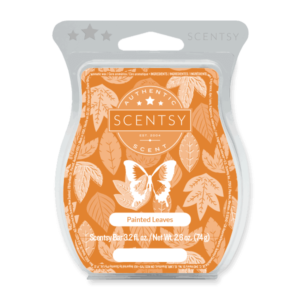 scentsy painted leaves fall