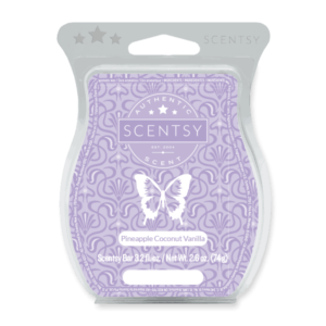 Pineapple Scentsy coconut vanilla