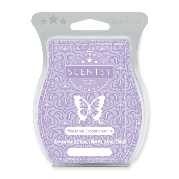 Pineapple Coconut Vanilla Scentsy Bar