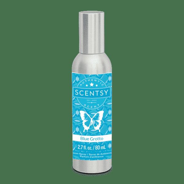 blue grotto scentsy room spray
