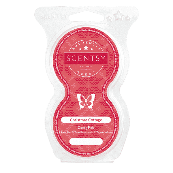 Christmas Cottage Scentsy Pods