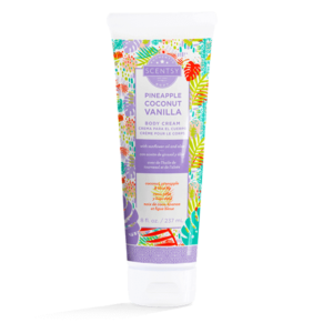 pineapple body cream by scentsy