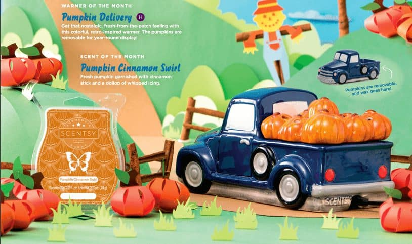 pumpkin truck scentsy