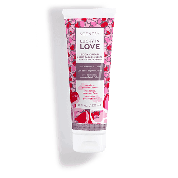 Lucky In Love Body Cream Scentsy Body Products