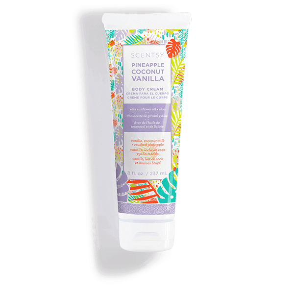 Pineapple Coconut Vanilla Body Cream