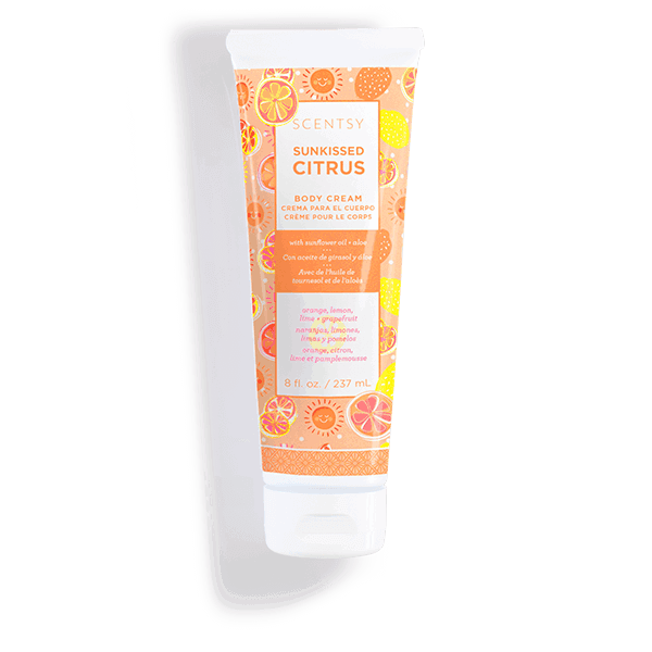 body cream sunkissed