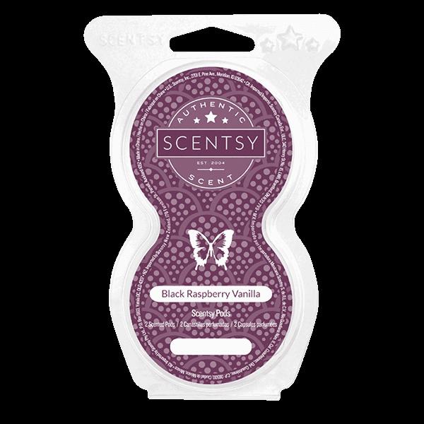 Black Raspberry Vanilla Scentsy Pods