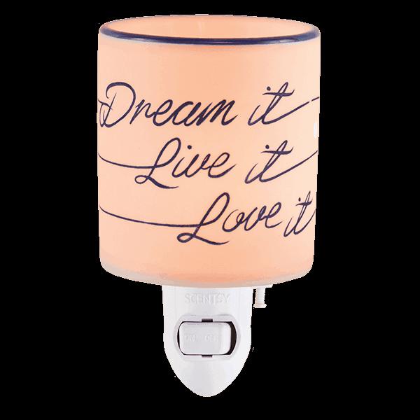 Dream It, Live It, Love It Mini Warmer