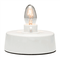 Tabletop Base For Ceramic Mini Warmer, Includes One 15-watt Bulb