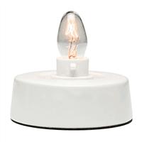 Tabletop Base for Ceramic Mini Warmer, includes one 15-watt bulb