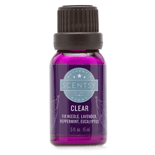 Clear Essential Oil Blend