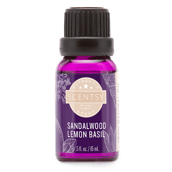 Sandalwood Lemon Basil 100% Natural Oil