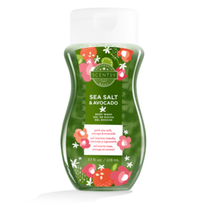 Sea Salt & Avocado Body Wash