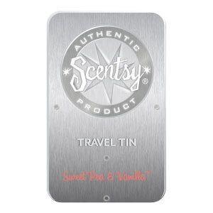 Sweet Pea & Vanilla Travel Tin