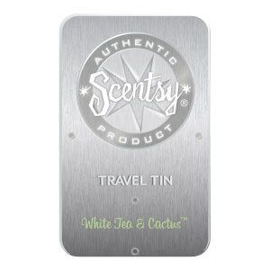 White Tea & Cactus Travel Tin