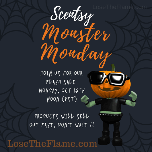 Scentsy Monster Monday 2017 – NEW